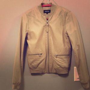 Mackage Lamb skin Leather Jacket